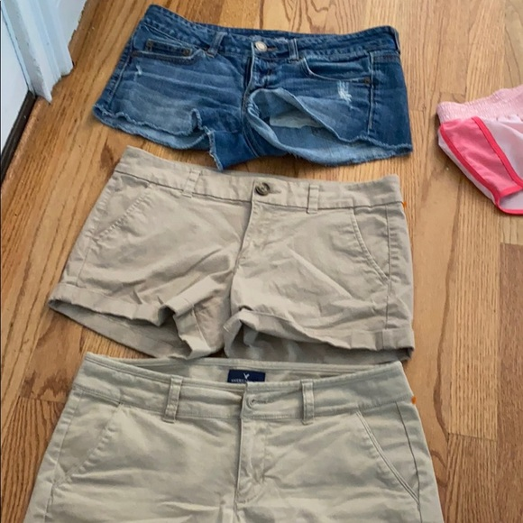 3 pairs on American eagle shorts